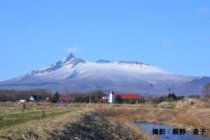 【4月web】『大沼中学校からの駒ケ岳』萩野圭子様