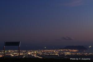 ↑夜は函館の裏夜景がキレイ!