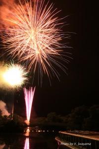 ↑7月22日(土)花火大会。7月23日(日)も開催します!