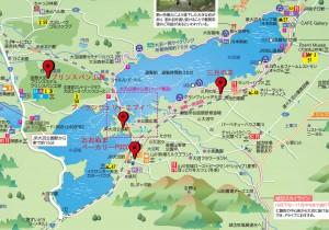 ↑大沼周辺マップ