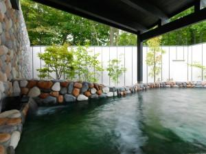 ↑温泉日帰り入浴「大沼鶴雅オーベルジュEPUY」