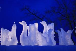 氷像(白鳥)2