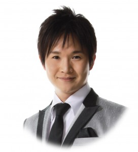 演歌男子shin円形トリミング
