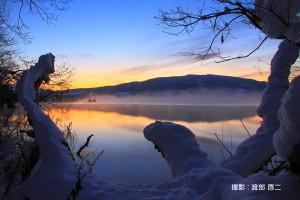 12月初冬の夜明け
