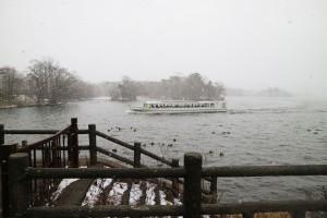 白鳥台セバット(遊覧船)