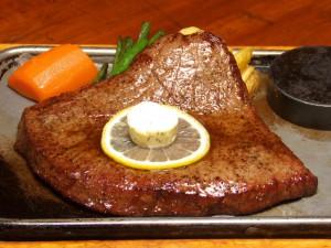 ランバーハウス大沼牛ステーキ